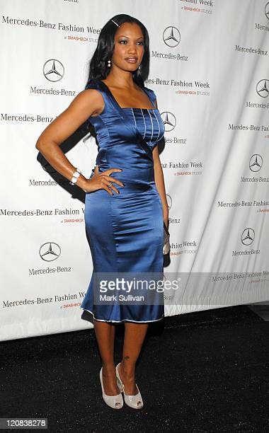 Garcelle Beauvais-Nilon during Mercedes-Benz Spring 2007 L.A. Fashion Week at Smashbox Studios - Arrivals - Day 1 at SmashBox Studio in Culver City,...