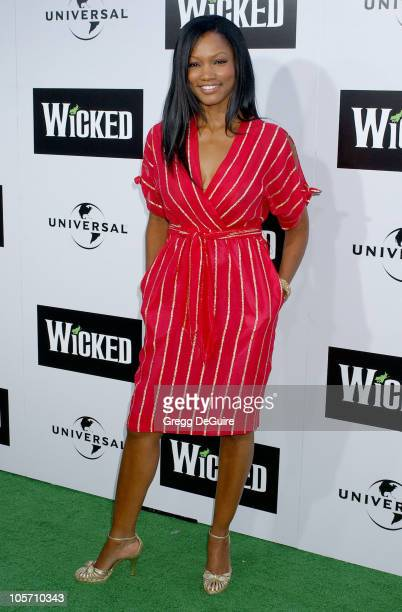"""Garcelle Beauvais-Nilon during """"Wicked"""" Los Angeles Opening Night - Arrivals at The Pantages Theatres in Los Angeles, California, United States."""
