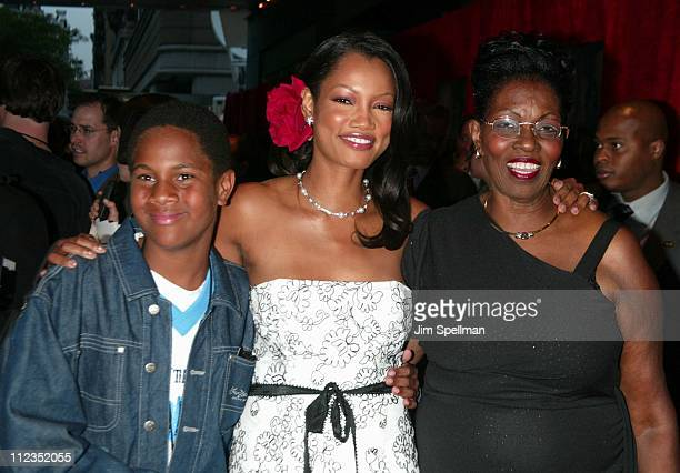 Garcelle BeauvaisNilon with mother Marie Claire brother