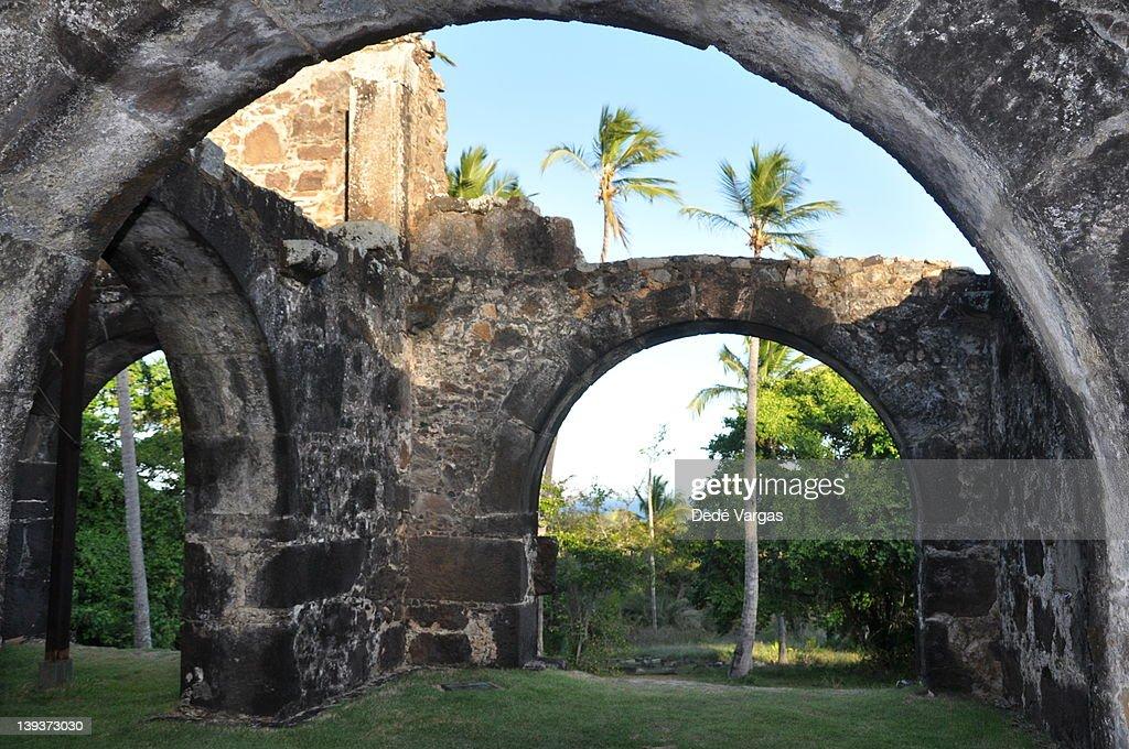 Garcia D'Ávila Castle : Stock Photo
