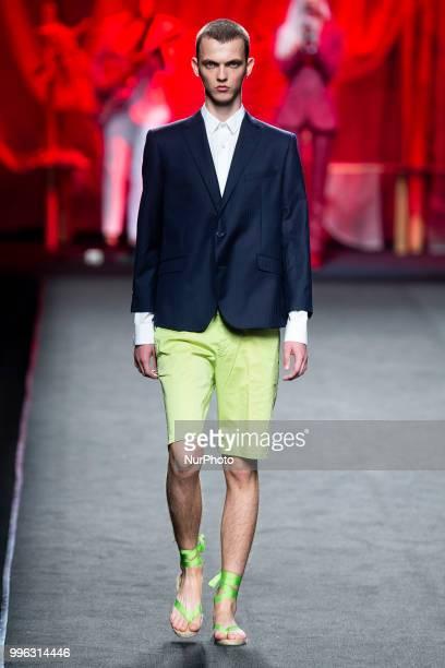 'Garcia Madrid' catwalk during the MercedesBenz Madrid Fashion Week Spring/Summer in Madrid Spain July 10 2018