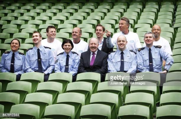 Garda runners including Eleanor Halloran Killian Leydon Sgt Siobhan McDermot Garda Commissioner Martin Callinan Dave Redmond and Vincent Hickey join...