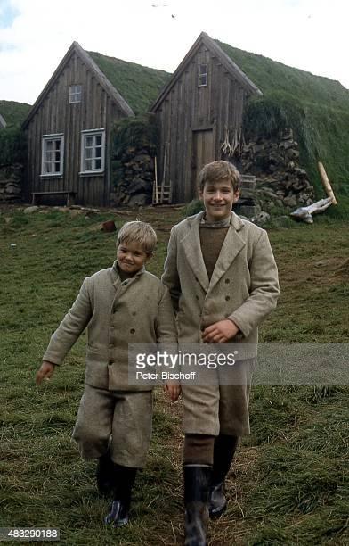 Gardar Thor Cortes Einar Orn Einarsson ZDFWeihnachts6Teiler Nonni und Manni Die Jungen von der Feuerinsel am in Mödruvellir Island