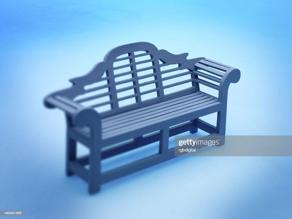Garden bench : Stock Photo