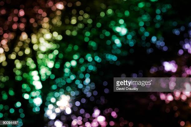 garden bokeh lights - crausby stock pictures, royalty-free photos & images