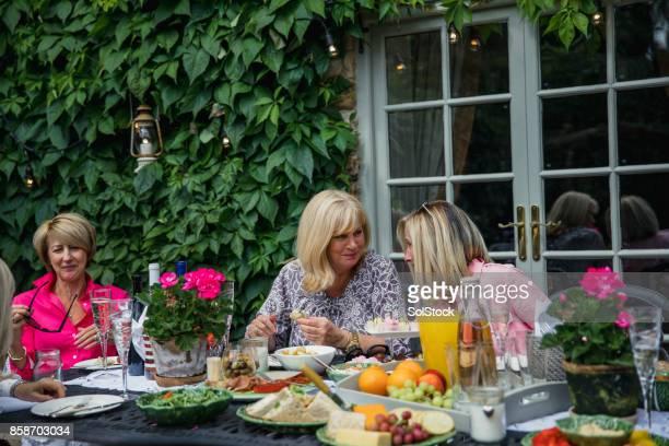 Garden Buffet with Friends
