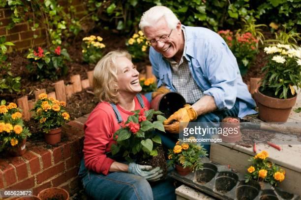 Garten Paar