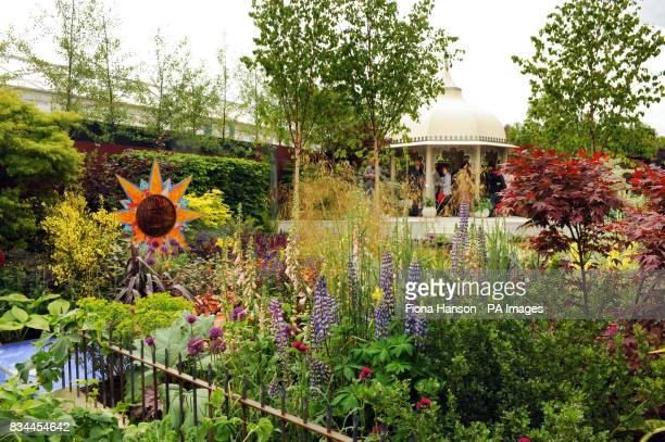 Garden dedicated to the memory of Beatles bassist George Harrison 'From Life to Life, A Garden for George' which represents the different stages of...