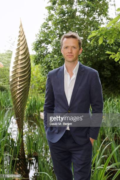 Garden Designer Andrew Duff attends 'The Savills and David Harber Garden' which celebrates the environmental benefit and beauty of trees plants and...
