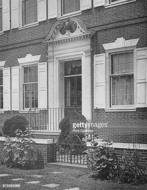 Garden entrance to the house of Miss Anne Morgan New York City 1924 Anne Morgan was a wealthy socialite and philanthropist Her house was designed by...