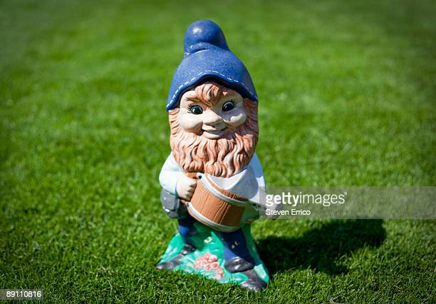 Garden Gnome standing on lawn