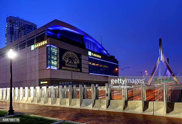 TD Garden home arena for the Boston Bruins and Boston Celtics