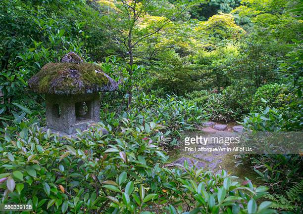 Garden in kotoin zen buddhist temple in daitokuji kansai region kyoto Japan on May 26 2016 in Kyoto Japan