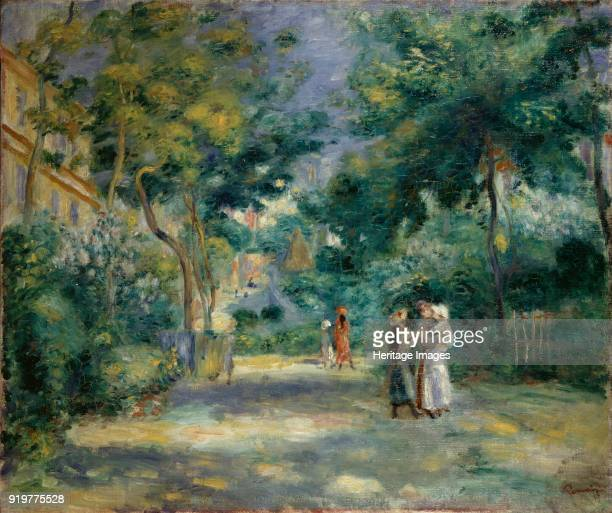 A Garden in Montmartre 18901899 Artist PierreAuguste Renoir