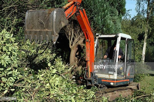 Garden - Mechanical digger