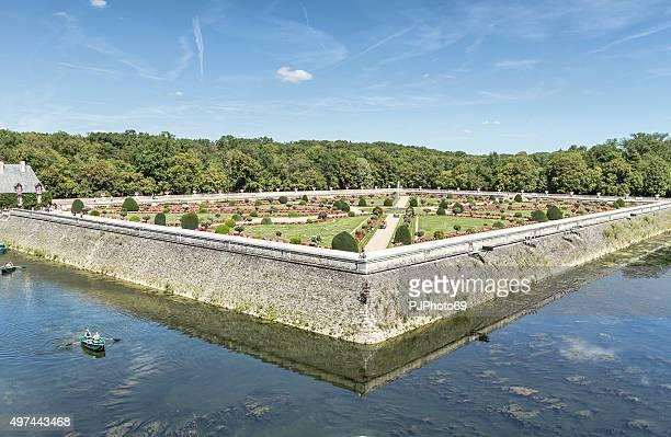 Garden of Chateau de Chenonceau