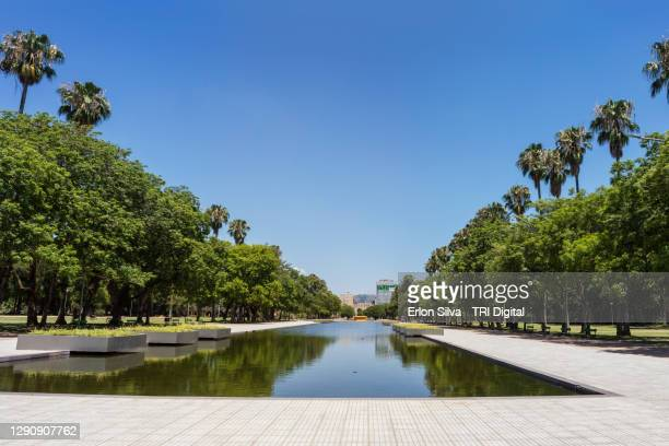 garden of farroupilha park in southern brazil - porto alegre stock pictures, royalty-free photos & images
