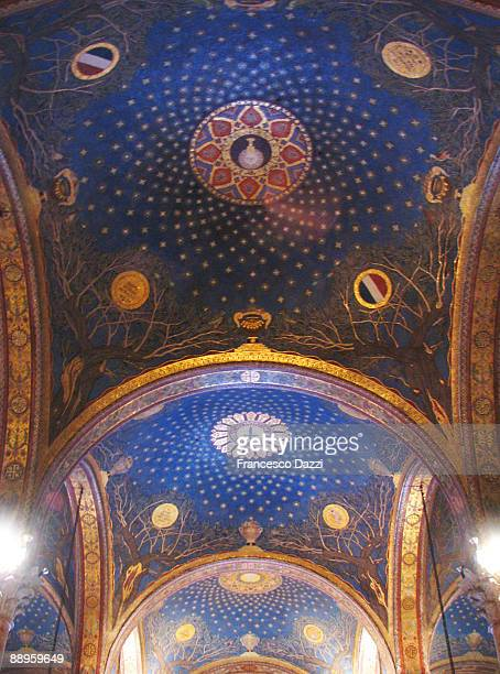 garden of gethsemane  - church of the agony - garden of gethsemane stock pictures, royalty-free photos & images