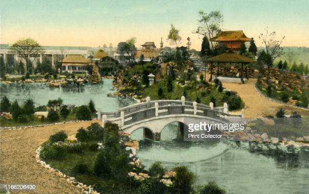 Garden of the Floating Isle, Coronation Exhibition, London, 1911. The Coronation Exhibition, at White City in west London, was held to celebrate the...