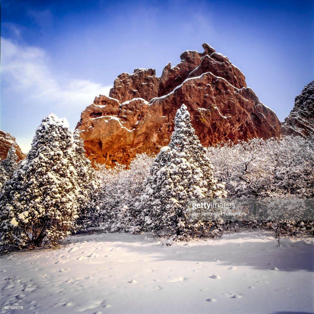 Garden Of The Gods National Natural Landmark Coloradousa