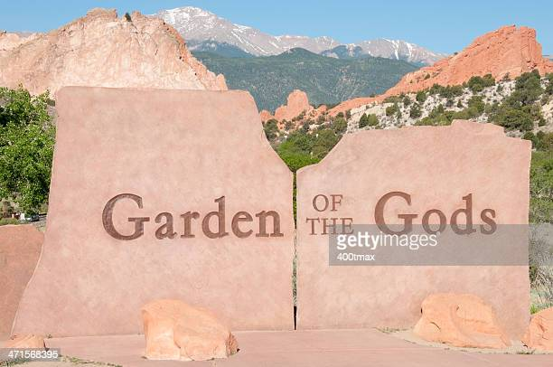 garden of the gods - garden of the gods stock photos and pictures