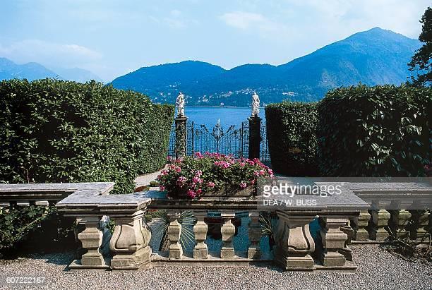 Garden of Villa Carlotta Tremezzo Lake Como Lombardy Italy 17th century