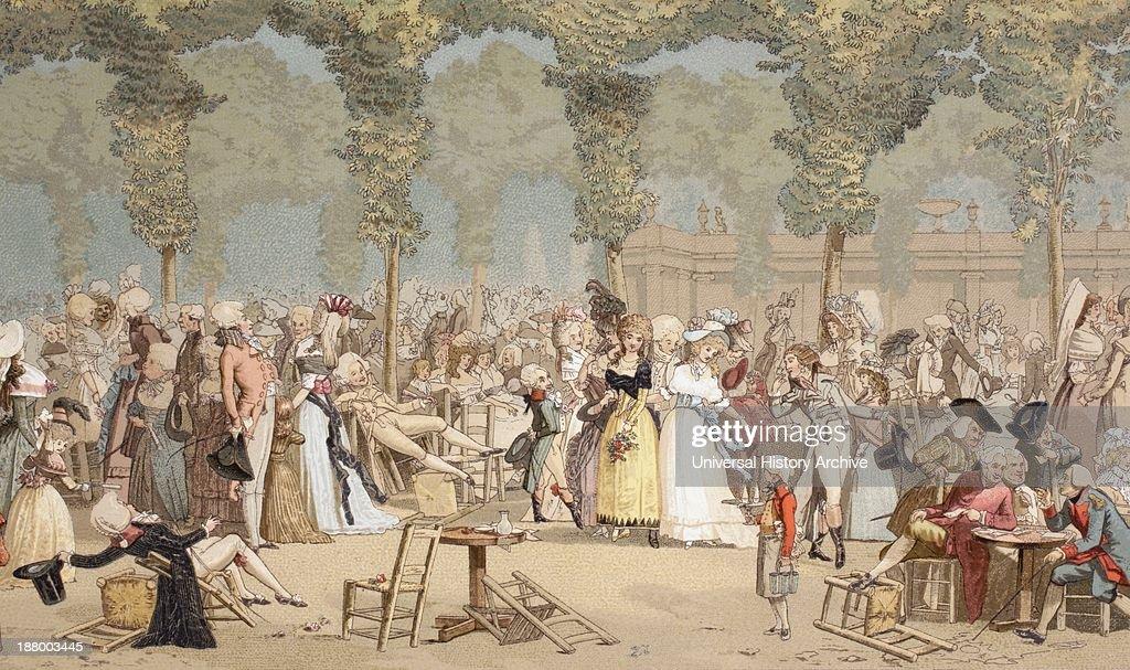 Garden On The Palais-Royal : News Photo