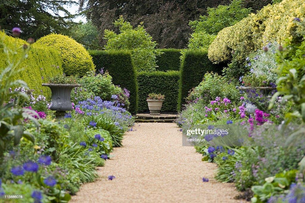 Caminho de Jardim : Foto de stock