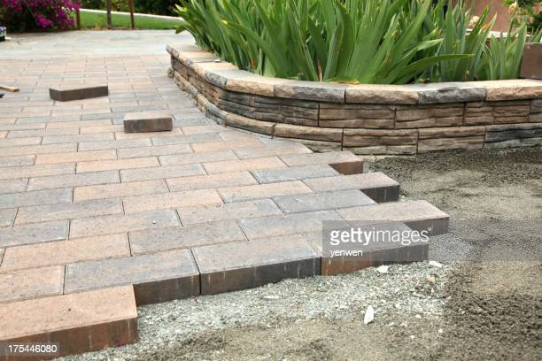Garden Paver Construction