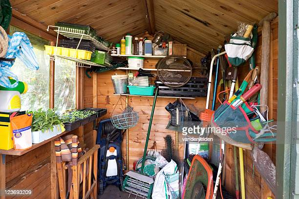 garden shed - shed stock pictures, royalty-free photos & images