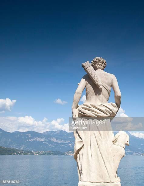 Garden statue.