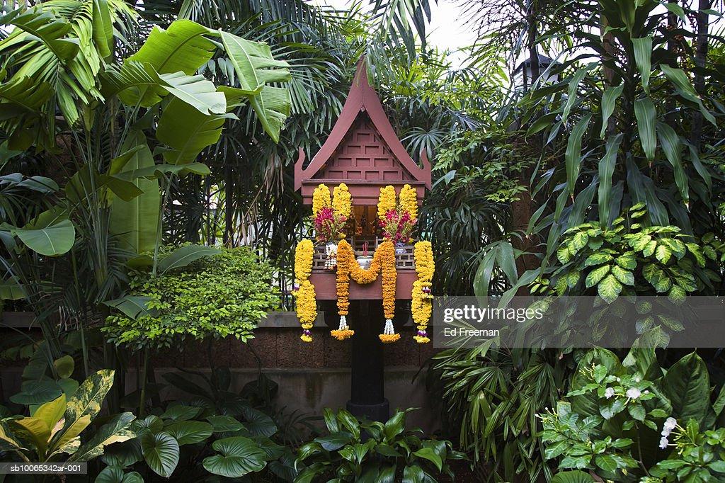 Garden surrounding house of Jim Thompson : Foto stock