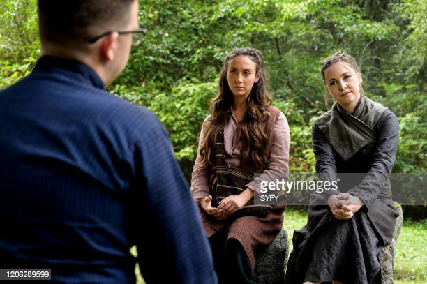 THE MAGICIANS Garden Variety Homicide Episode 508 Pictured Stella Maeve as Julia Wicker Brittany Curran as Fen