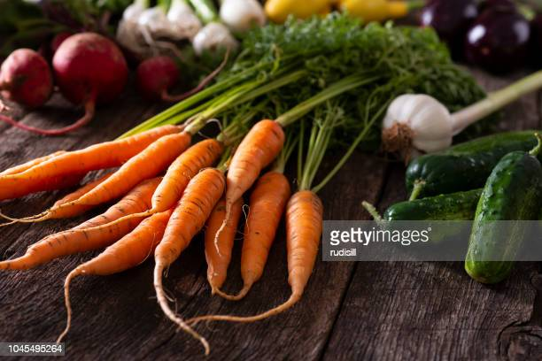 garden vegetables - fruit farm stock photos and pictures