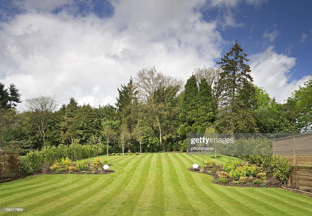 garden view : Stock Photo