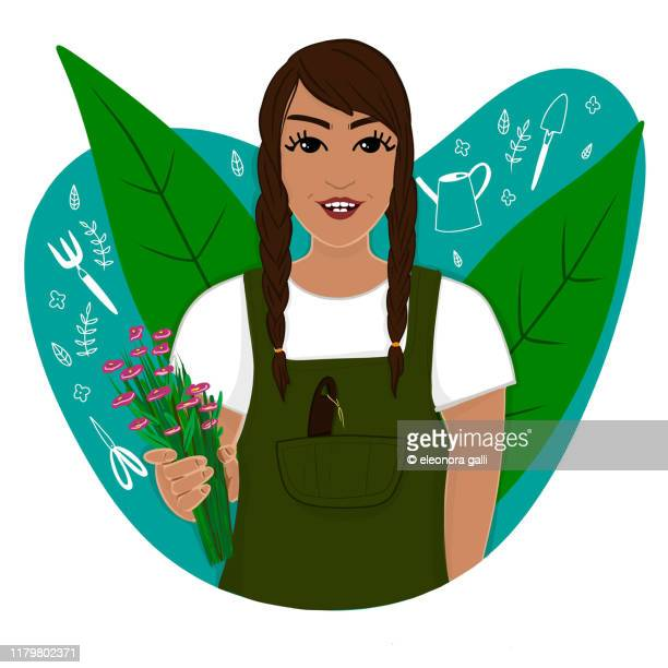 76 Gardening Cartoon Photos And Premium High Res Pictures Getty Images