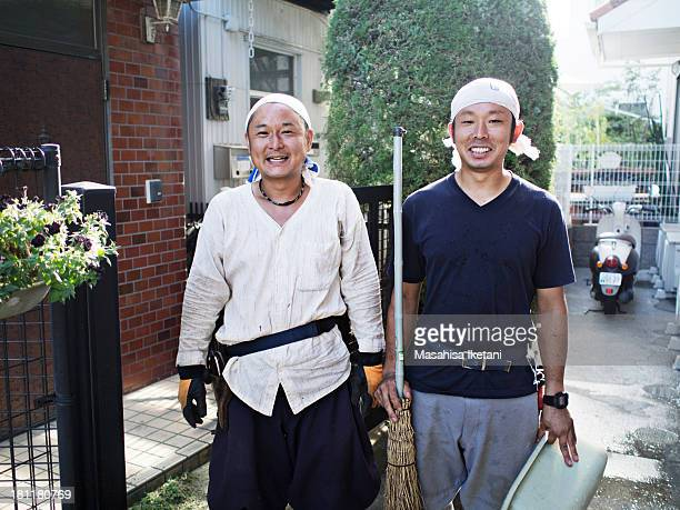 Gardener Portrait of Japan