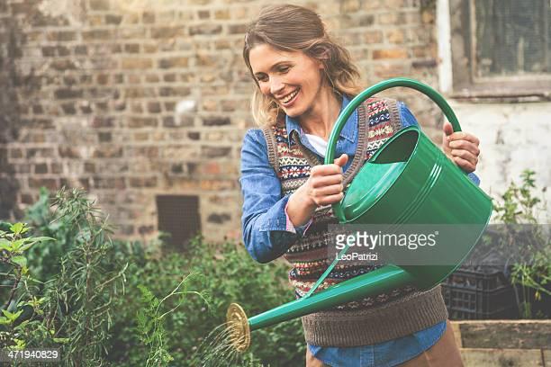 Giardiniere Annaffiare le piante