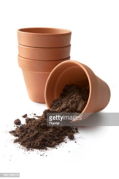 Garten: Plant Töpfen und Boden