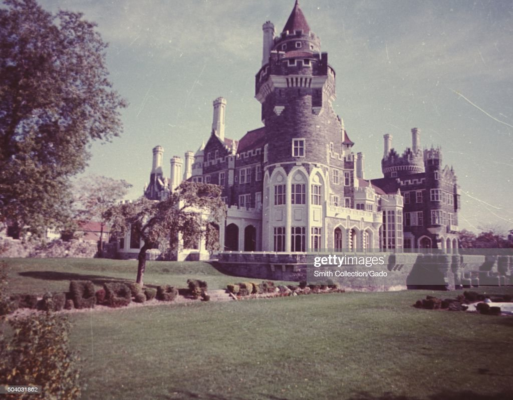 Gardens And Exterior At Casa Loma A Gothic Revival Mansion Patterned After Castle