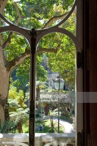 Gardens and Palace of Quinta da Regaleira Sintra Portugal