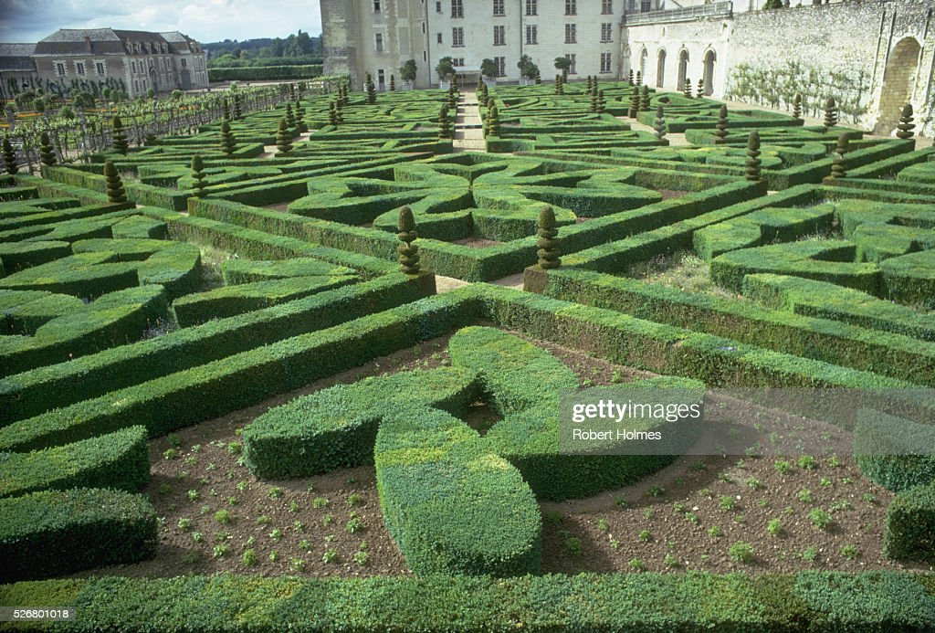 Gardens at Chateau Villandry Pictures | Getty Images