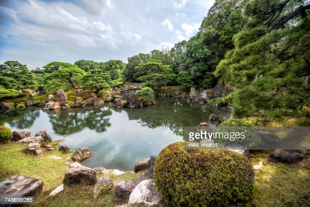 Gardens at Nijo Castle, Kyoto, Japan
