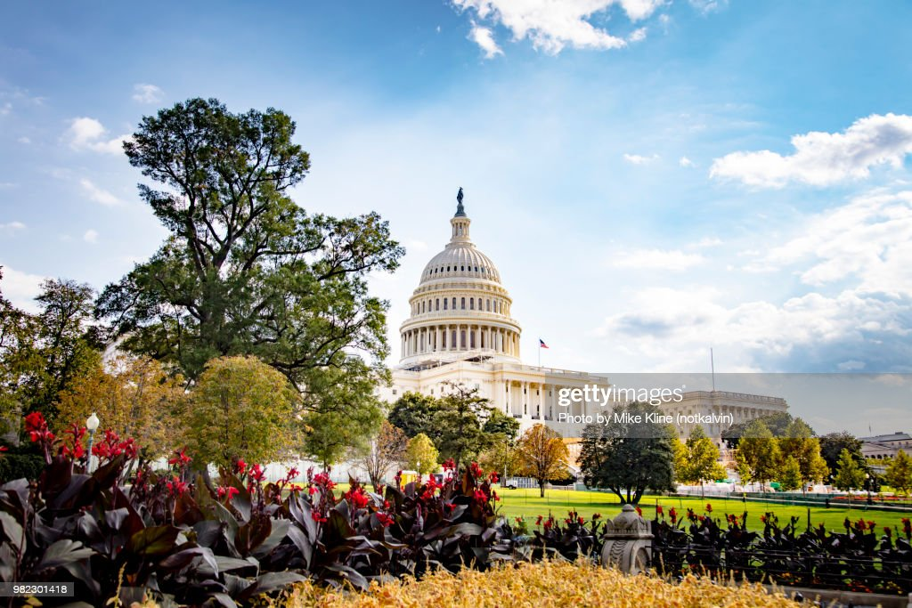 Gardens at the Capitol : Stock Photo