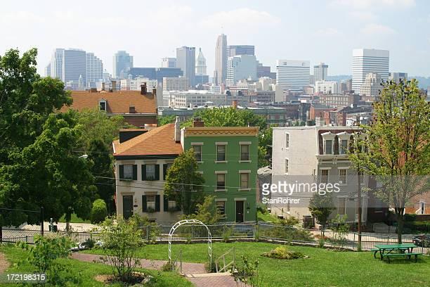 Gardens in Cincinnati, Ohio, Skyline
