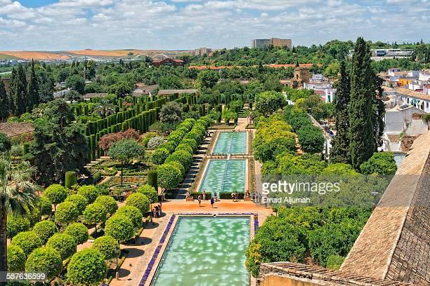 Gardens of Alcázar of Córdoba, Cordoba, Spain