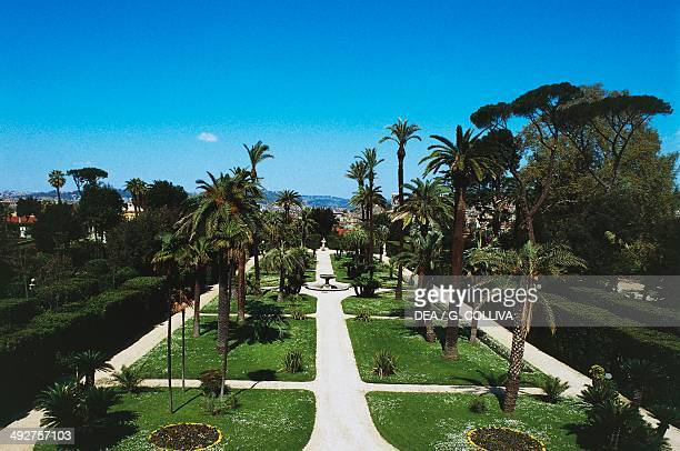 Gardens of the Quirinal Palace Rome Lazio Italy
