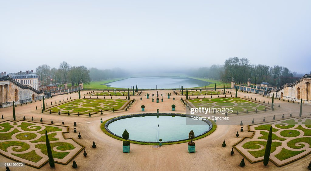 Gardens of Versailles Apollo Fountain : Stock Photo