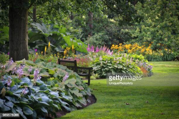 gardens - aangelegd stockfoto's en -beelden
