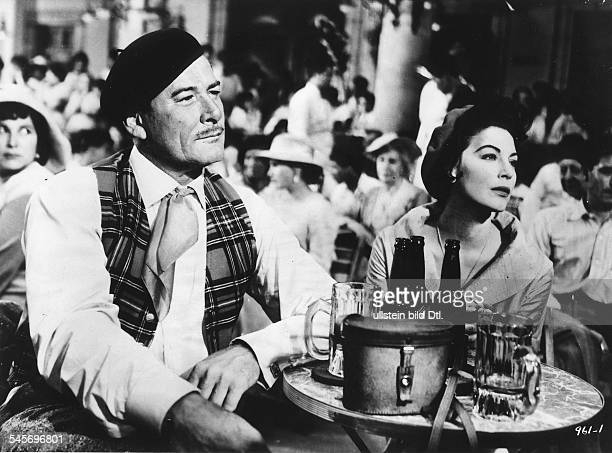 Gardner Ava Actress USA * Scene from the movie 'The Sun also Rises'' with Errol Flynn Directed by Henry King USA 1957 Produced by Twentieth Century...